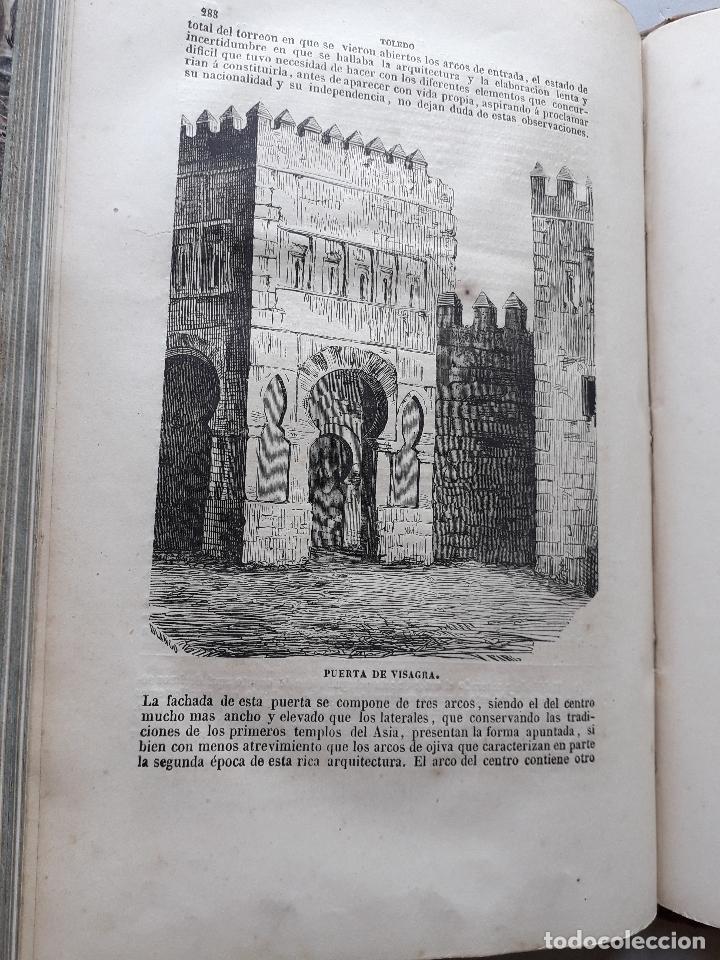 Libros antiguos: Toledo pintoresca. Amador de los Ríos. Madrid, año 1845. - Foto 4 - 181421937