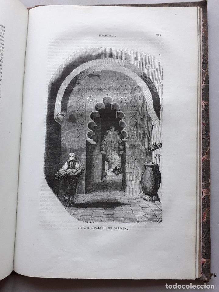 Libros antiguos: Toledo pintoresca. Amador de los Ríos. Madrid, año 1845. - Foto 5 - 181421937
