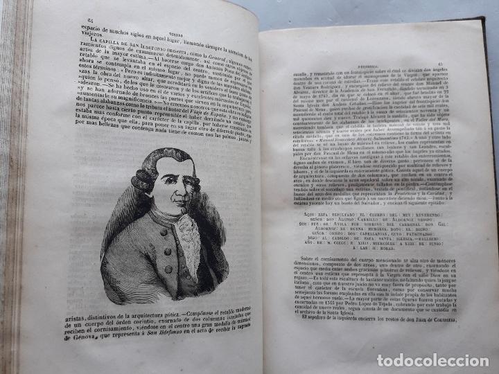 Libros antiguos: Toledo pintoresca. Amador de los Ríos. Madrid, año 1845. - Foto 6 - 181421937