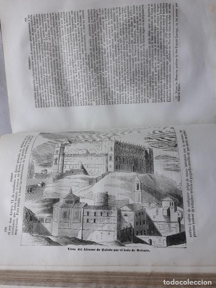 Libros antiguos: Toledo pintoresca. Amador de los Ríos. Madrid, año 1845. - Foto 10 - 181421937