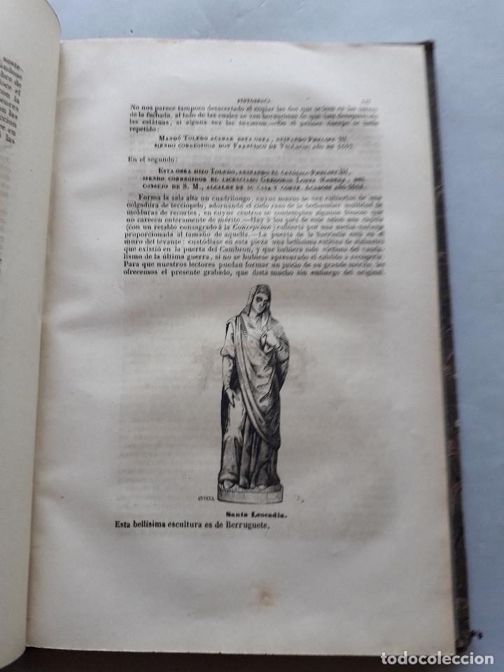 Libros antiguos: Toledo pintoresca. Amador de los Ríos. Madrid, año 1845. - Foto 11 - 181421937