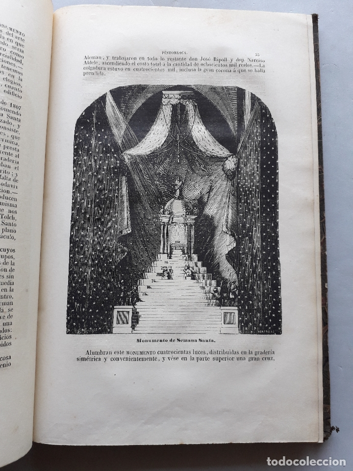 Libros antiguos: Toledo pintoresca. Amador de los Ríos. Madrid, año 1845. - Foto 12 - 181421937