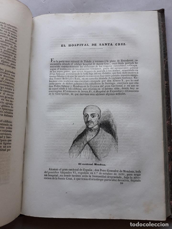Libros antiguos: Toledo pintoresca. Amador de los Ríos. Madrid, año 1845. - Foto 13 - 181421937