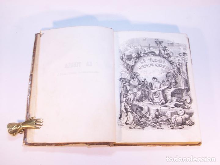 Libros antiguos: La tierra. descripción geográfica y pintoresca de las cinco partes del mundo. D. Ángel Fernández de - Foto 3 - 181569697