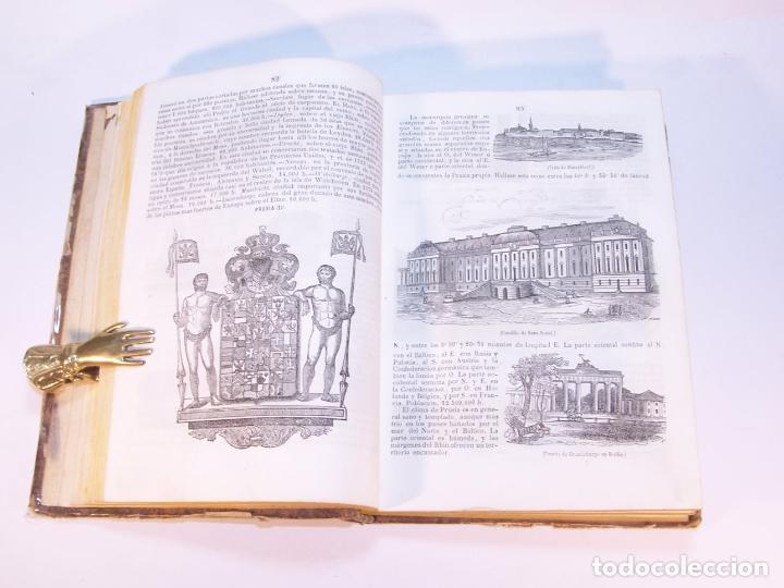Libros antiguos: La tierra. descripción geográfica y pintoresca de las cinco partes del mundo. D. Ángel Fernández de - Foto 5 - 181569697