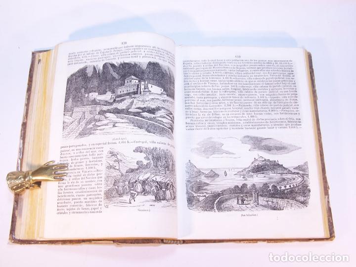 Libros antiguos: La tierra. descripción geográfica y pintoresca de las cinco partes del mundo. D. Ángel Fernández de - Foto 6 - 181569697