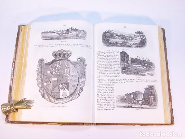 Libros antiguos: La tierra. descripción geográfica y pintoresca de las cinco partes del mundo. D. Ángel Fernández de - Foto 7 - 181569697