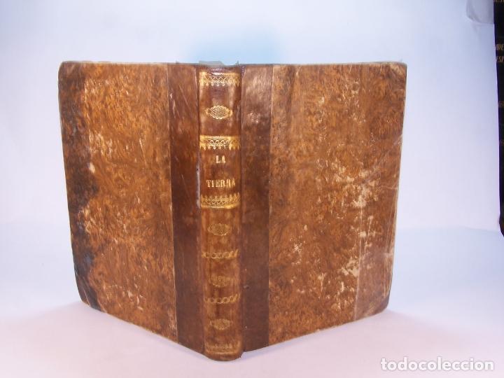 LA TIERRA. DESCRIPCIÓN GEOGRÁFICA Y PINTORESCA DE LAS CINCO PARTES DEL MUNDO. D. ÁNGEL FERNÁNDEZ DE (Libros Antiguos, Raros y Curiosos - Geografía y Viajes)