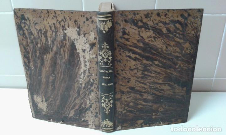 Libros antiguos: GEOGRAFIA DEL MAR MAURY ILUSTRADA CON MAPAS CORRIENTES HURACANES AÑO 1860 - Foto 3 - 181613560