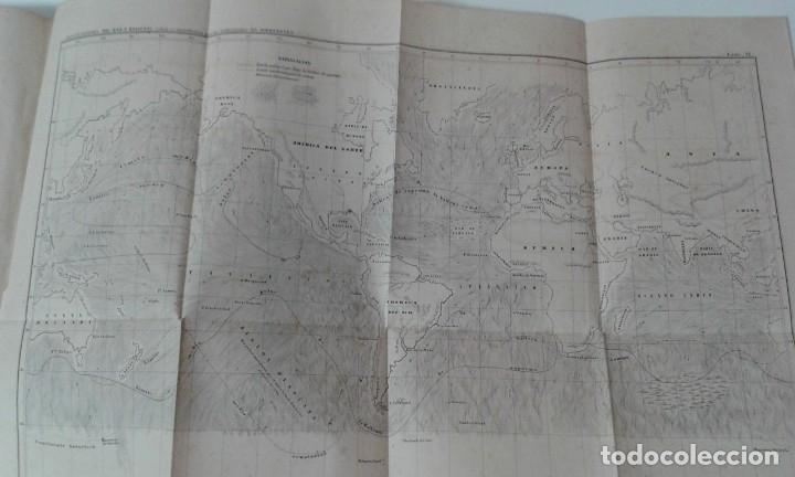 Libros antiguos: GEOGRAFIA DEL MAR MAURY ILUSTRADA CON MAPAS CORRIENTES HURACANES AÑO 1860 - Foto 12 - 181613560