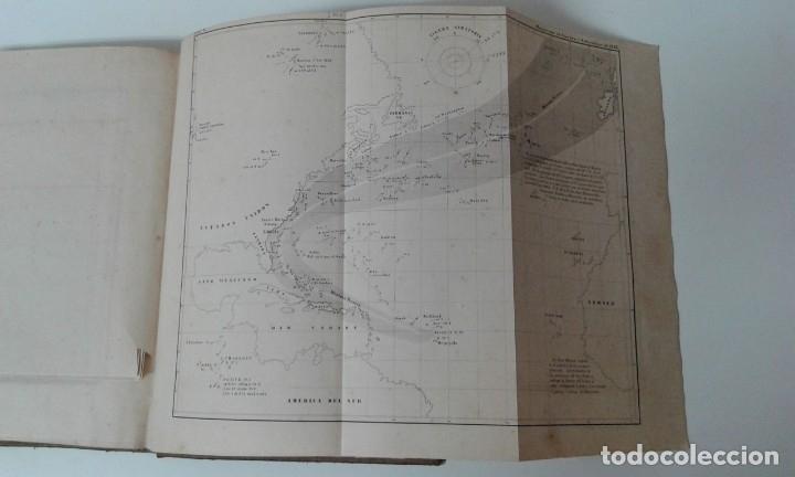 Libros antiguos: GEOGRAFIA DEL MAR MAURY ILUSTRADA CON MAPAS CORRIENTES HURACANES AÑO 1860 - Foto 13 - 181613560