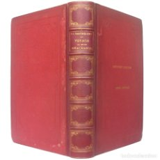 Libros antiguos: 1863 - VIAJES - GRECIA - VIAJE DEL JOVEN ANACARSIS A GRECIA - MUNDO ANTIGUO - VOLUMEN DE 26 CM.. Lote 181773130