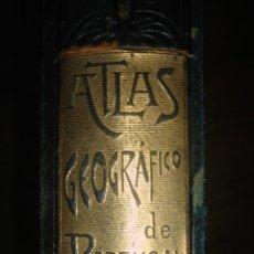 Libros antiguos: ESPLÉNDIDO ATLAS DE PORTUGAL, 12 MAPAS COROGRÁFICOS, CHIAS / BARBOSA, BARCELONA, 1903, ESPLÉNDIDO. Lote 181812706