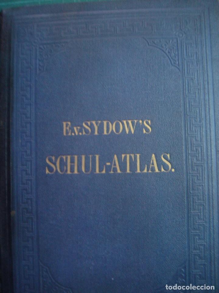 Libros antiguos: ATLAS UNIVERSAL SYDOW´S, GHOTA 1881, 41 MAPAS EN UN MARAVILLOSO ESTADO, COLOREADOS. - Foto 6 - 181813587
