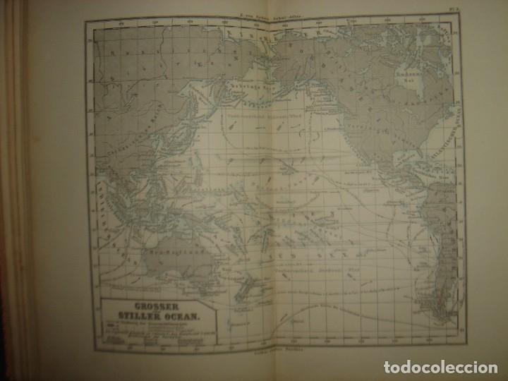 Libros antiguos: ATLAS UNIVERSAL SYDOW´S, GHOTA 1881, 41 MAPAS EN UN MARAVILLOSO ESTADO, COLOREADOS. - Foto 14 - 181813587