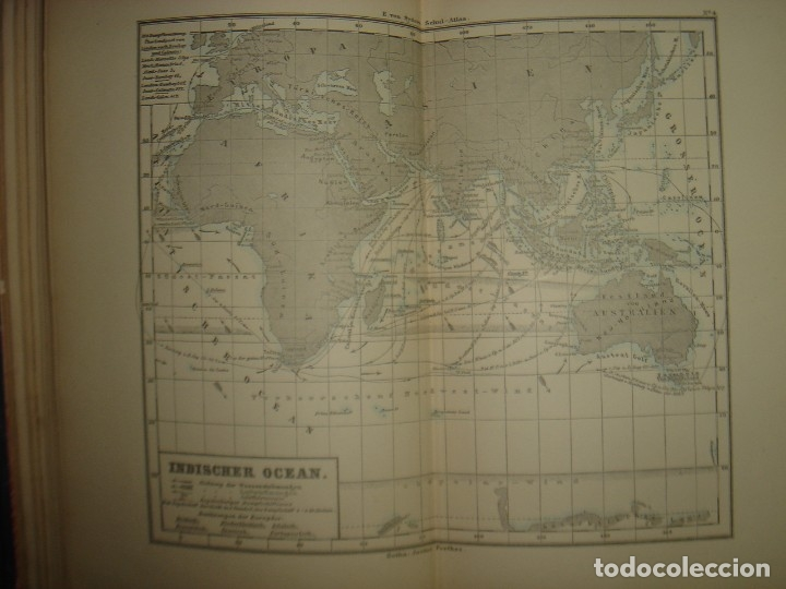 Libros antiguos: ATLAS UNIVERSAL SYDOW´S, GHOTA 1881, 41 MAPAS EN UN MARAVILLOSO ESTADO, COLOREADOS. - Foto 15 - 181813587
