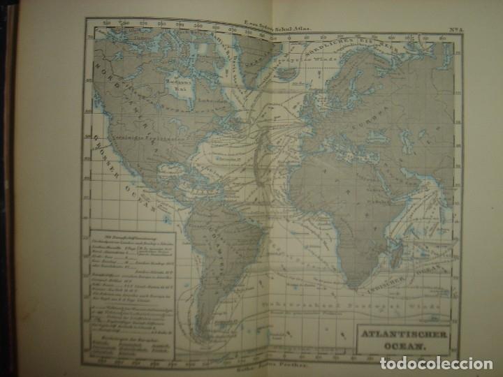 Libros antiguos: ATLAS UNIVERSAL SYDOW´S, GHOTA 1881, 41 MAPAS EN UN MARAVILLOSO ESTADO, COLOREADOS. - Foto 16 - 181813587