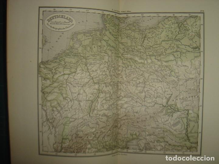 Libros antiguos: ATLAS UNIVERSAL SYDOW´S, GHOTA 1881, 41 MAPAS EN UN MARAVILLOSO ESTADO, COLOREADOS. - Foto 20 - 181813587