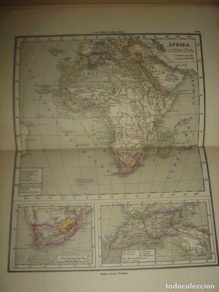 Libros antiguos: ATLAS UNIVERSAL SYDOW´S, GHOTA 1881, 41 MAPAS EN UN MARAVILLOSO ESTADO, COLOREADOS. - Foto 43 - 181813587