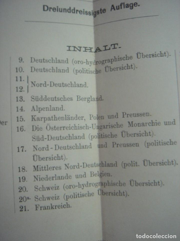 Libros antiguos: ATLAS UNIVERSAL SYDOW´S, GHOTA 1881, 41 MAPAS EN UN MARAVILLOSO ESTADO, COLOREADOS. - Foto 50 - 181813587