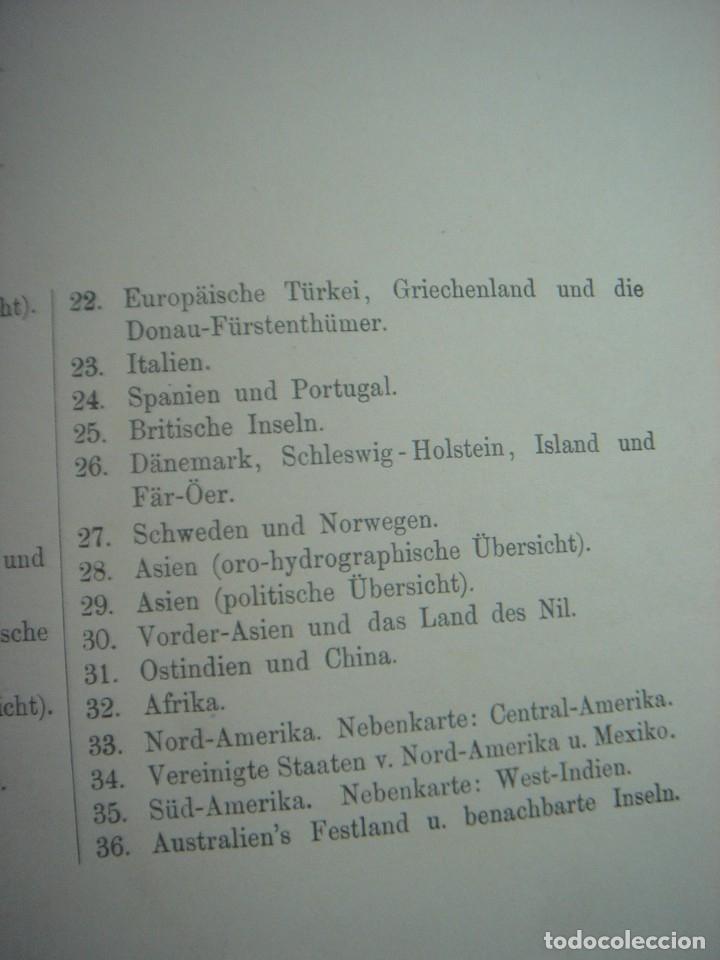 Libros antiguos: ATLAS UNIVERSAL SYDOW´S, GHOTA 1881, 41 MAPAS EN UN MARAVILLOSO ESTADO, COLOREADOS. - Foto 51 - 181813587
