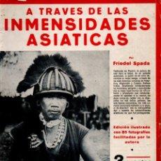 Libros antiguos: F. SPADA : A TRAVÉS DE LAS INMENSIDADES ASIÁTICAS (IBERIA, 1932). Lote 182012850