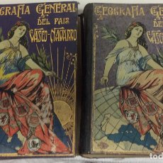Libros antiguos: GEOGRAFÍA GENERAL DEL PAÍS VASCO-NAVARRO, 2 TOMOS (PAÍS VASCO NAVARRO-NAVARRA. Lote 182083996