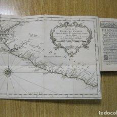 Libros antiguos: HISTOIRE GENERALE DES VOYAGES, T.XI, 1747. PRÉVOST/BELLIN. CON MAPAS Y VISTAS. Lote 182095830