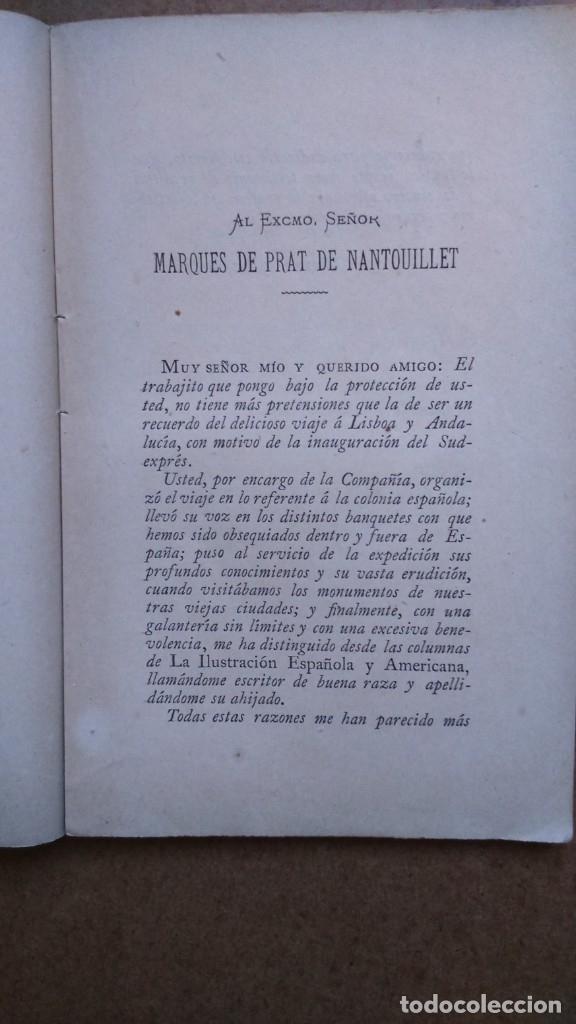 Libros antiguos: EN EL RAPIDO.Valentin Picatoste Año 1888 - Foto 3 - 182183736