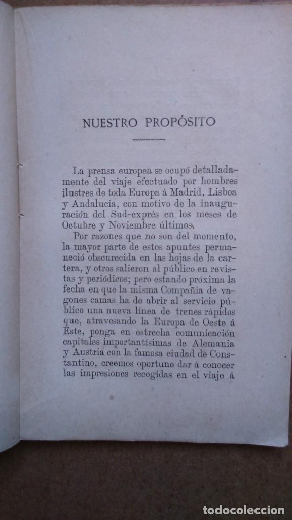 Libros antiguos: EN EL RAPIDO.Valentin Picatoste Año 1888 - Foto 4 - 182183736