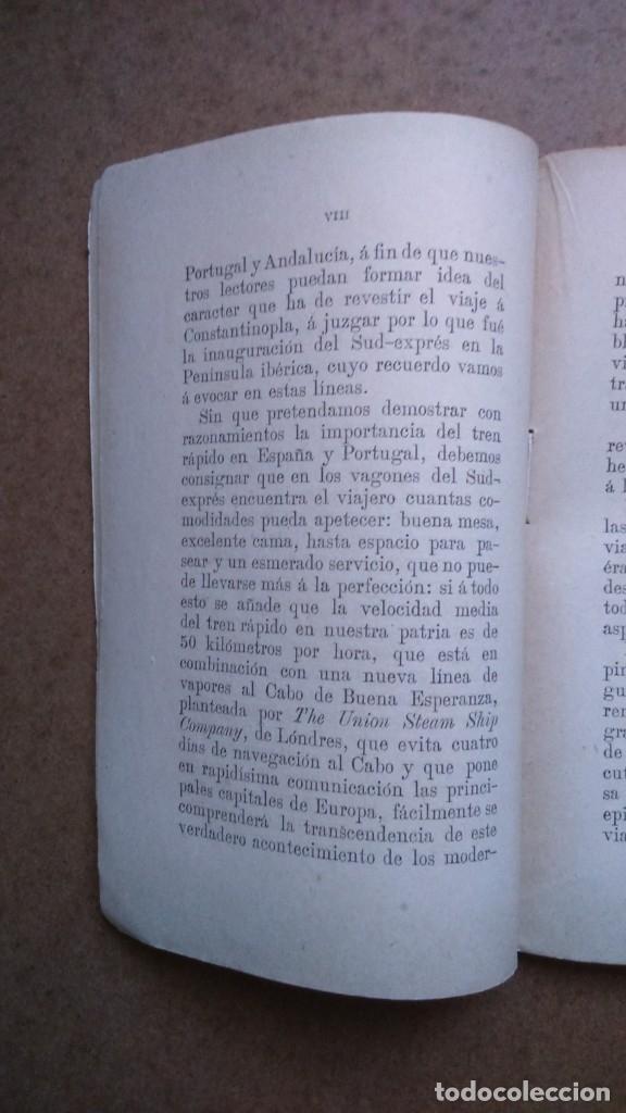 Libros antiguos: EN EL RAPIDO.Valentin Picatoste Año 1888 - Foto 6 - 182183736
