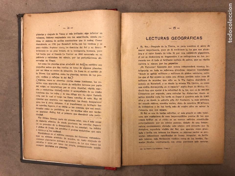 Libros antiguos: LECCIONES Y LECTURAS DE GEOGRAFÍA GENERAL Y DESCRIPTIVA. ÁNGEL BELLVER Y CHECA. 1917 - Foto 3 - 182275130