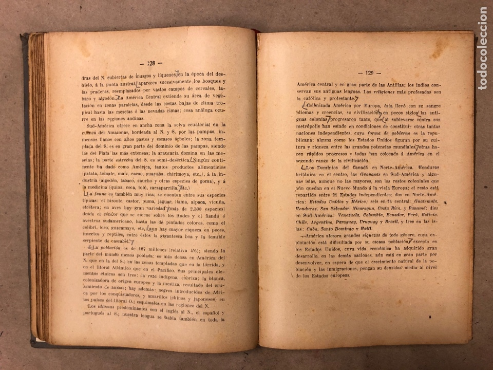 Libros antiguos: LECCIONES Y LECTURAS DE GEOGRAFÍA GENERAL Y DESCRIPTIVA. ÁNGEL BELLVER Y CHECA. 1917 - Foto 5 - 182275130