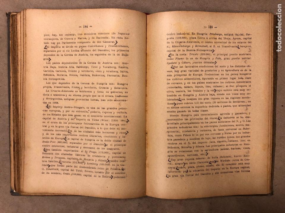 Libros antiguos: LECCIONES Y LECTURAS DE GEOGRAFÍA GENERAL Y DESCRIPTIVA. ÁNGEL BELLVER Y CHECA. 1917 - Foto 6 - 182275130