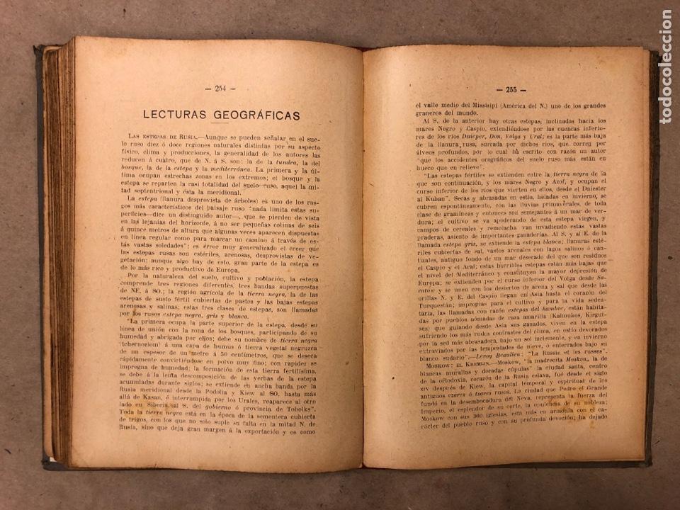 Libros antiguos: LECCIONES Y LECTURAS DE GEOGRAFÍA GENERAL Y DESCRIPTIVA. ÁNGEL BELLVER Y CHECA. 1917 - Foto 7 - 182275130