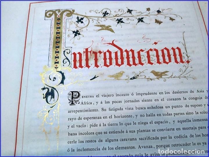 Libros antiguos: AÑO 1878-80: EL OASIS. VIAJE AL PAÍS DE LOS FUEROS. 3 TOMOS ILUSTRADOS DEL SIGLO XIX. MAÑÉ Y FLAQUER - Foto 7 - 182367432