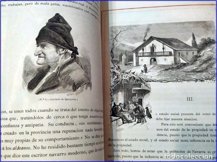 Libros antiguos: AÑO 1878-80: EL OASIS. VIAJE AL PAÍS DE LOS FUEROS. 3 TOMOS ILUSTRADOS DEL SIGLO XIX. MAÑÉ Y FLAQUER - Foto 10 - 182367432