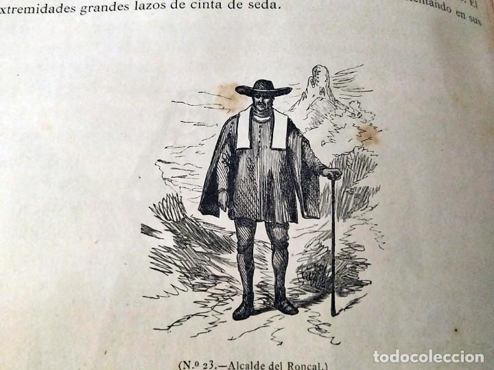 Libros antiguos: AÑO 1878-80: EL OASIS. VIAJE AL PAÍS DE LOS FUEROS. 3 TOMOS ILUSTRADOS DEL SIGLO XIX. MAÑÉ Y FLAQUER - Foto 14 - 182367432