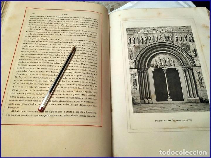 Libros antiguos: AÑO 1878-80: EL OASIS. VIAJE AL PAÍS DE LOS FUEROS. 3 TOMOS ILUSTRADOS DEL SIGLO XIX. MAÑÉ Y FLAQUER - Foto 16 - 182367432