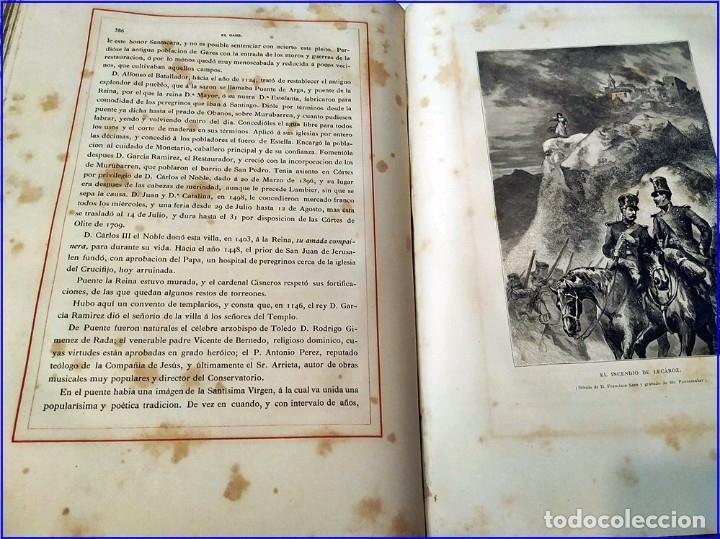 Libros antiguos: AÑO 1878-80: EL OASIS. VIAJE AL PAÍS DE LOS FUEROS. 3 TOMOS ILUSTRADOS DEL SIGLO XIX. MAÑÉ Y FLAQUER - Foto 18 - 182367432