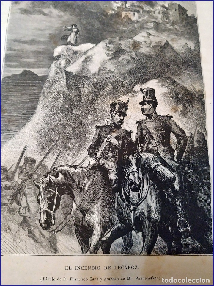 Libros antiguos: AÑO 1878-80: EL OASIS. VIAJE AL PAÍS DE LOS FUEROS. 3 TOMOS ILUSTRADOS DEL SIGLO XIX. MAÑÉ Y FLAQUER - Foto 19 - 182367432