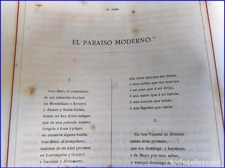 Libros antiguos: AÑO 1878-80: EL OASIS. VIAJE AL PAÍS DE LOS FUEROS. 3 TOMOS ILUSTRADOS DEL SIGLO XIX. MAÑÉ Y FLAQUER - Foto 30 - 182367432