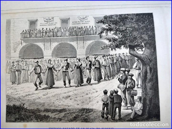 Libros antiguos: AÑO 1878-80: EL OASIS. VIAJE AL PAÍS DE LOS FUEROS. 3 TOMOS ILUSTRADOS DEL SIGLO XIX. MAÑÉ Y FLAQUER - Foto 31 - 182367432