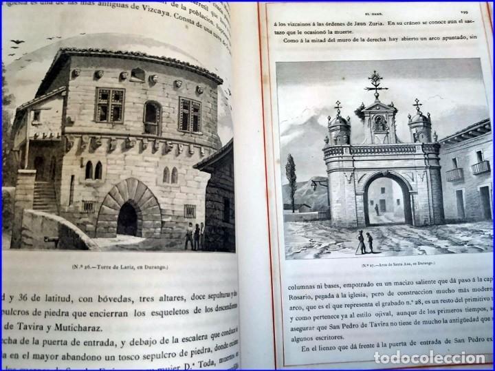 Libros antiguos: AÑO 1878-80: EL OASIS. VIAJE AL PAÍS DE LOS FUEROS. 3 TOMOS ILUSTRADOS DEL SIGLO XIX. MAÑÉ Y FLAQUER - Foto 32 - 182367432
