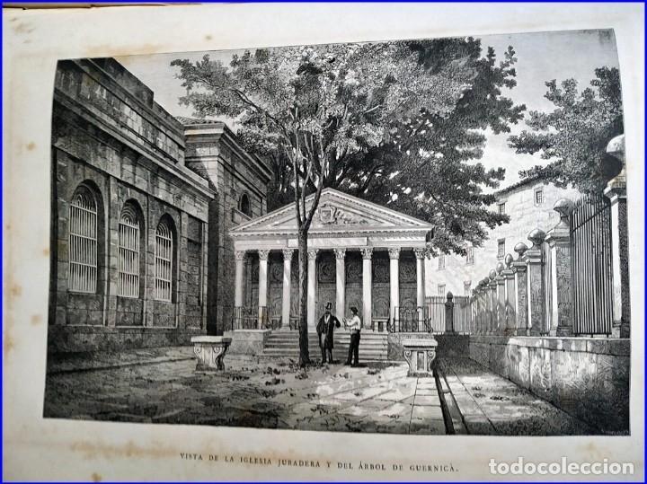 Libros antiguos: AÑO 1878-80: EL OASIS. VIAJE AL PAÍS DE LOS FUEROS. 3 TOMOS ILUSTRADOS DEL SIGLO XIX. MAÑÉ Y FLAQUER - Foto 33 - 182367432