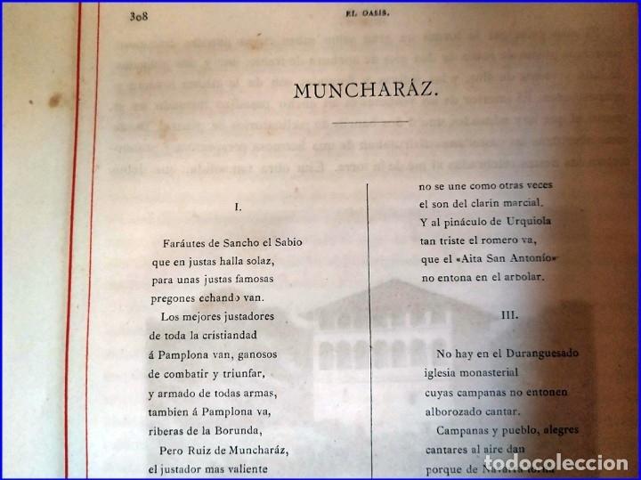 Libros antiguos: AÑO 1878-80: EL OASIS. VIAJE AL PAÍS DE LOS FUEROS. 3 TOMOS ILUSTRADOS DEL SIGLO XIX. MAÑÉ Y FLAQUER - Foto 34 - 182367432