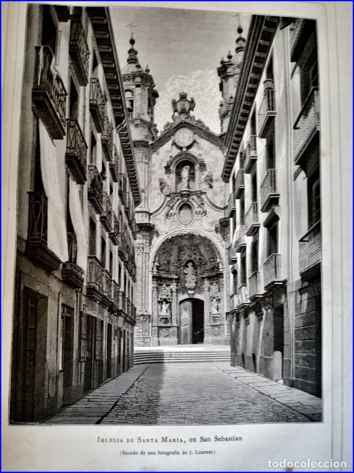 Libros antiguos: AÑO 1878-80: EL OASIS. VIAJE AL PAÍS DE LOS FUEROS. 3 TOMOS ILUSTRADOS DEL SIGLO XIX. MAÑÉ Y FLAQUER - Foto 39 - 182367432