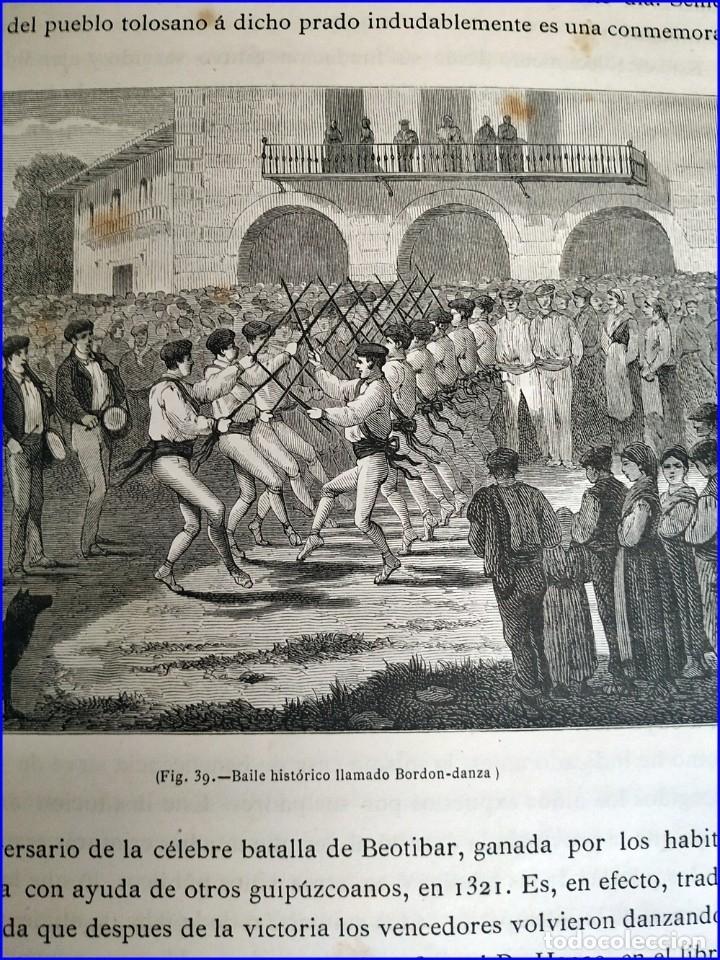 Libros antiguos: AÑO 1878-80: EL OASIS. VIAJE AL PAÍS DE LOS FUEROS. 3 TOMOS ILUSTRADOS DEL SIGLO XIX. MAÑÉ Y FLAQUER - Foto 40 - 182367432