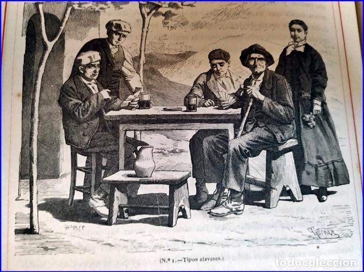 Libros antiguos: AÑO 1878-80: EL OASIS. VIAJE AL PAÍS DE LOS FUEROS. 3 TOMOS ILUSTRADOS DEL SIGLO XIX. MAÑÉ Y FLAQUER - Foto 41 - 182367432