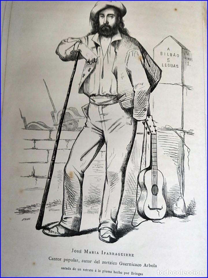 Libros antiguos: AÑO 1878-80: EL OASIS. VIAJE AL PAÍS DE LOS FUEROS. 3 TOMOS ILUSTRADOS DEL SIGLO XIX. MAÑÉ Y FLAQUER - Foto 47 - 182367432